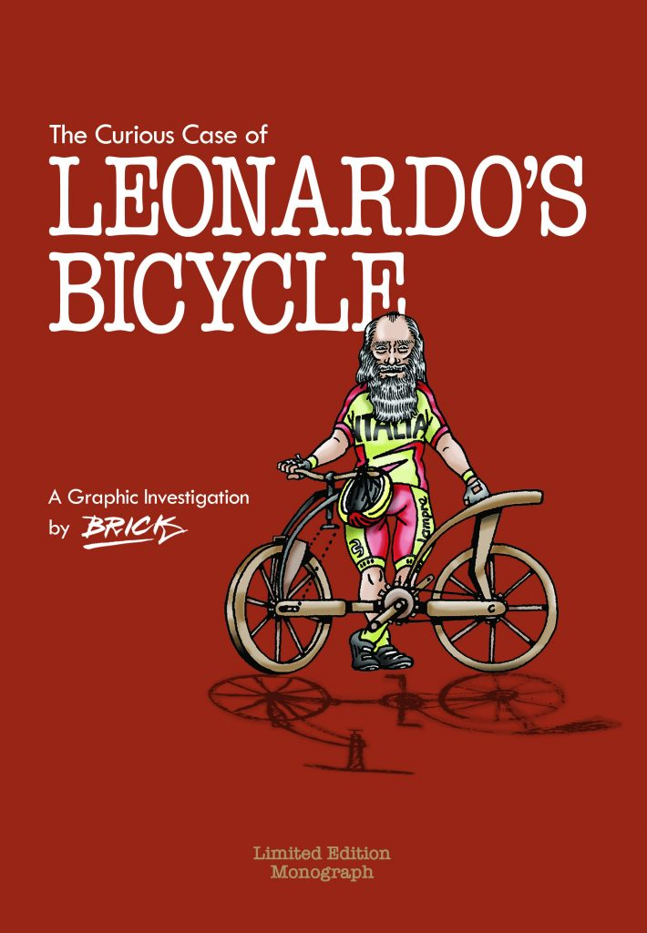 The Curious Case of Leonardo's Bicycle Press
